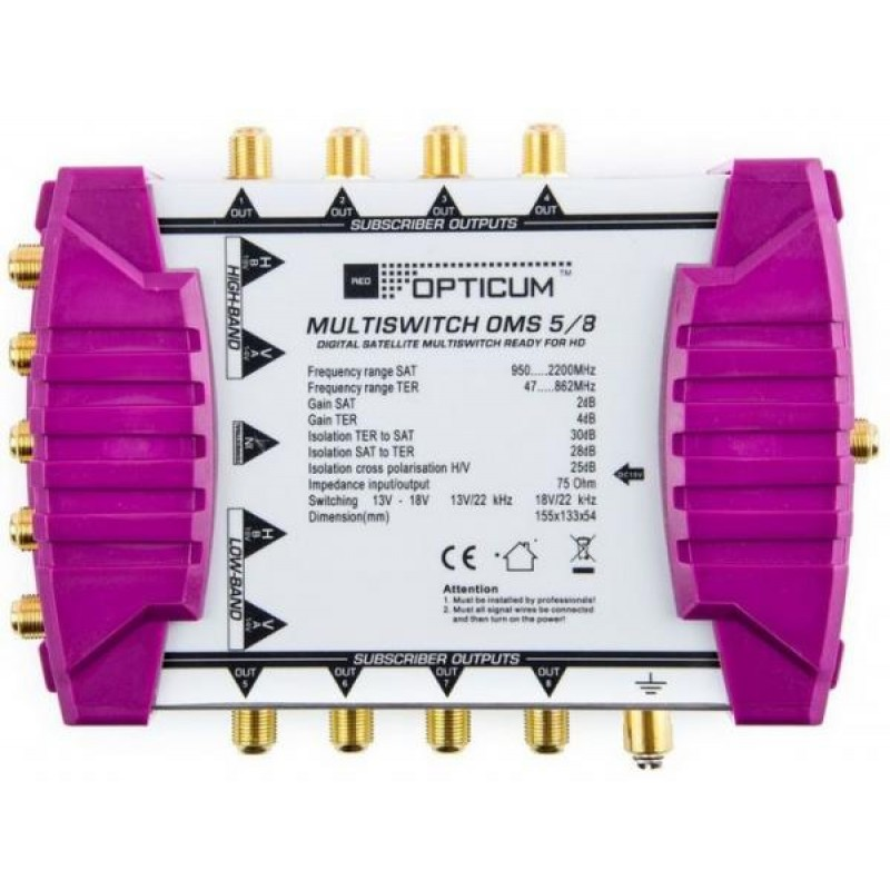ANT-MULTISWITCH-5/8-MS